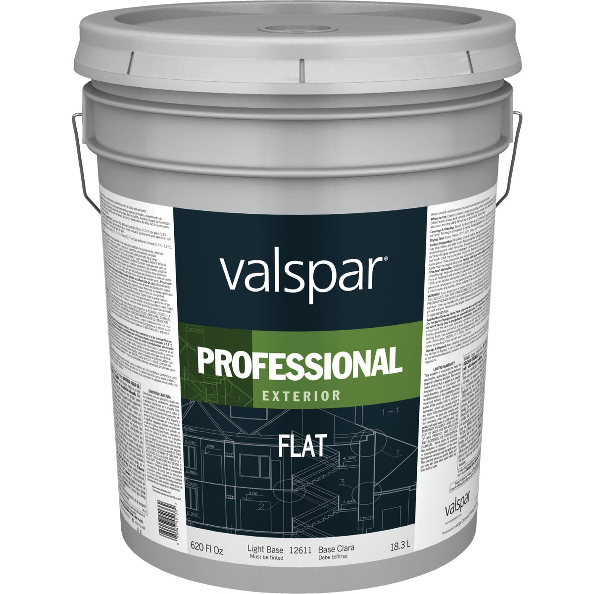 EXT FLAT LGHT BASE PAINT - 045.0012611.008 by Valspar Corp
