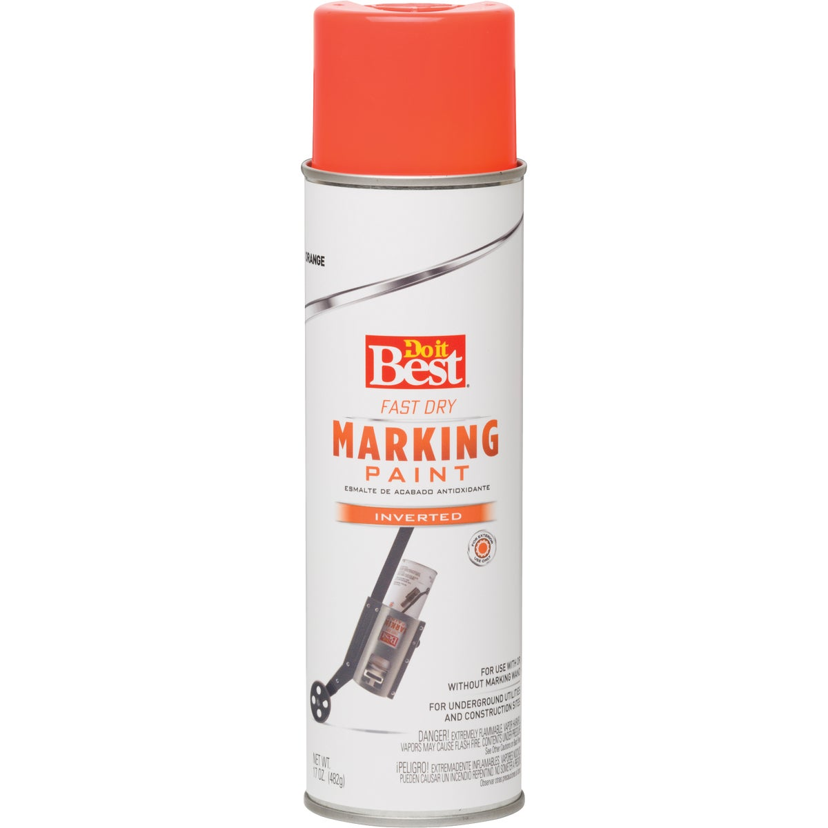 ORANGE MARKING PAINT