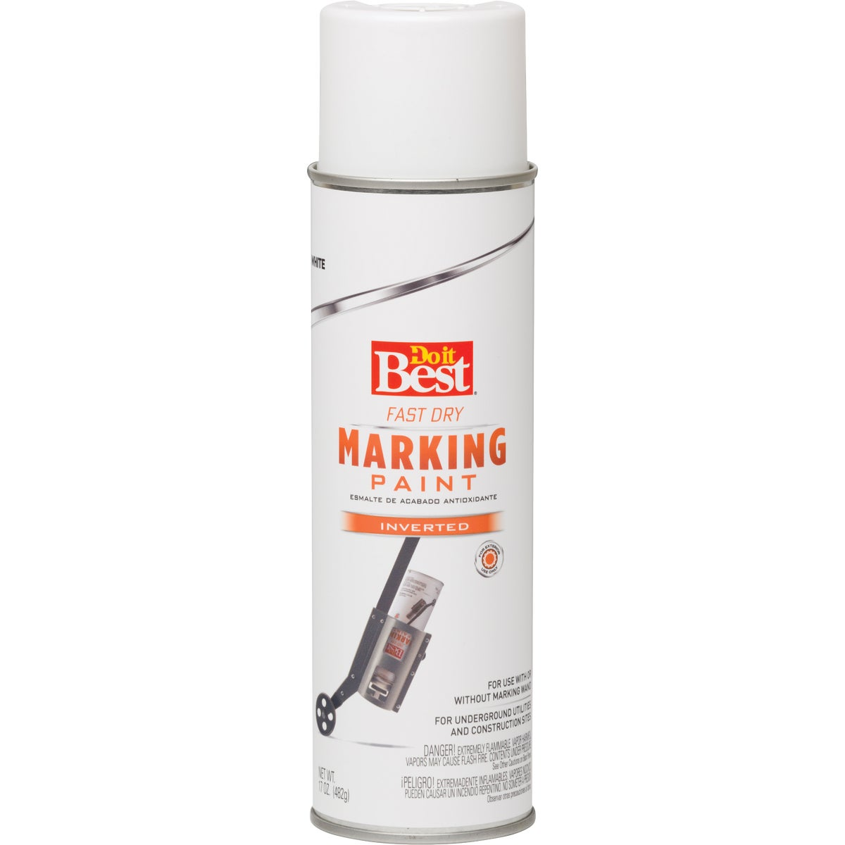 WHITE MARKING PAINT - 4002 by Rustoleum