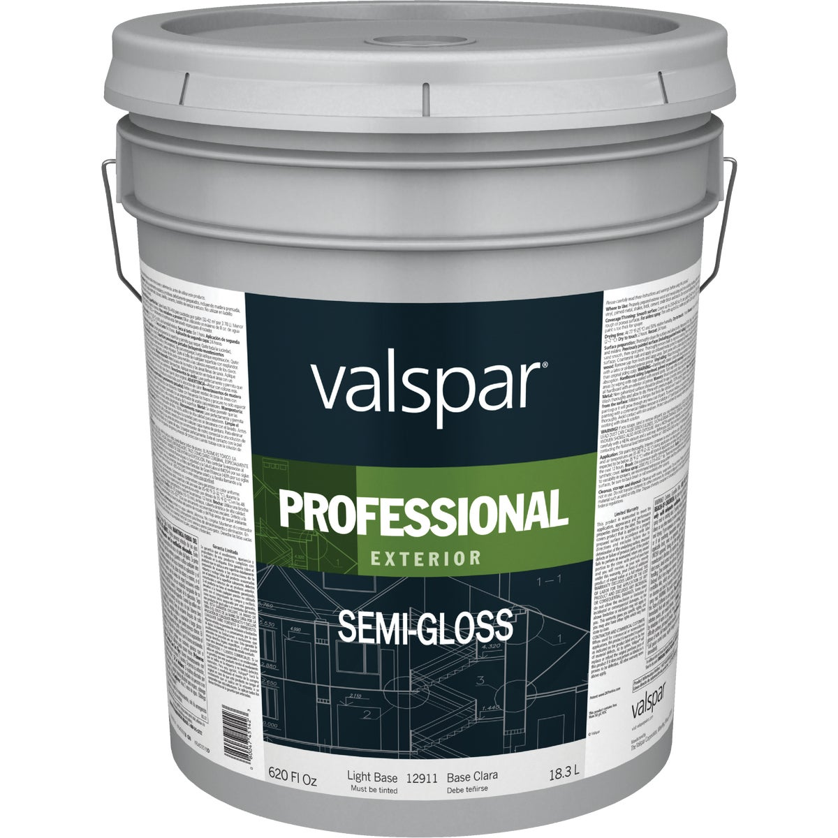 EXT S/G LIGHT BASE PAINT - 045.0012911.008 by Valspar Corp