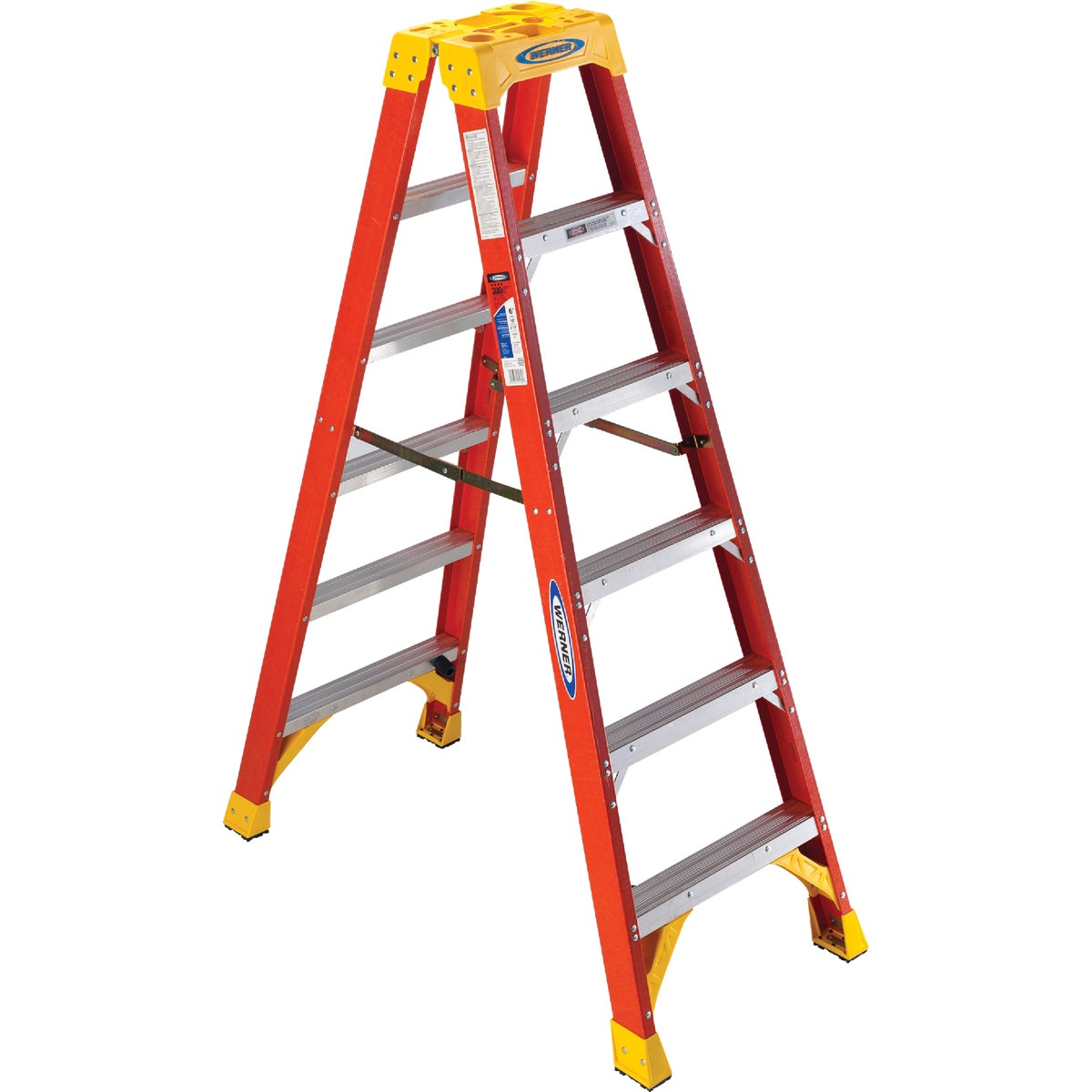 T-1A 6' TWIN STEPLADDER - T6206 by Werner Ladder