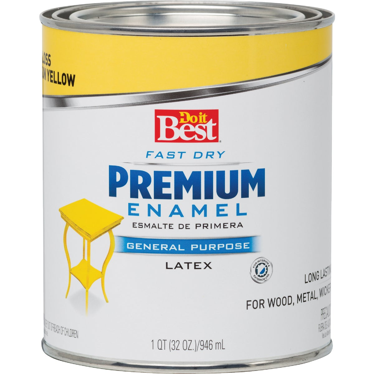 SUN YELLOW LATEX ENAMEL - 2209 by Rustoleum