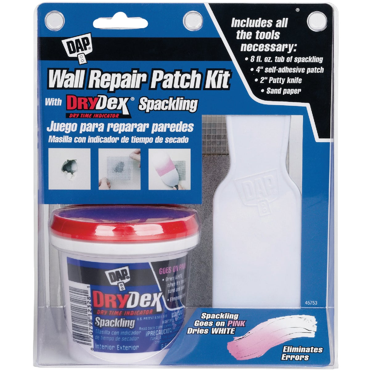 DRYDEX WALL REPAIR KIT - 12345 by Dap Inc