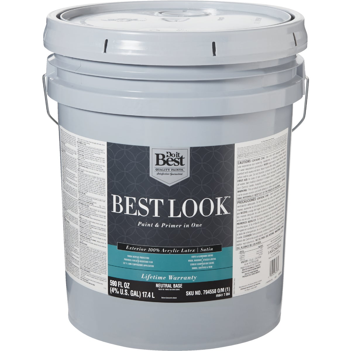 EXT SAT NEUTRAL BS PAINT - HW41T0804-20 by Do it Best