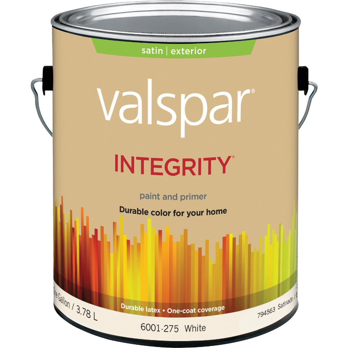 EXT SAT WHITE PAINT - 004.6001275.007 by Valspar Corp