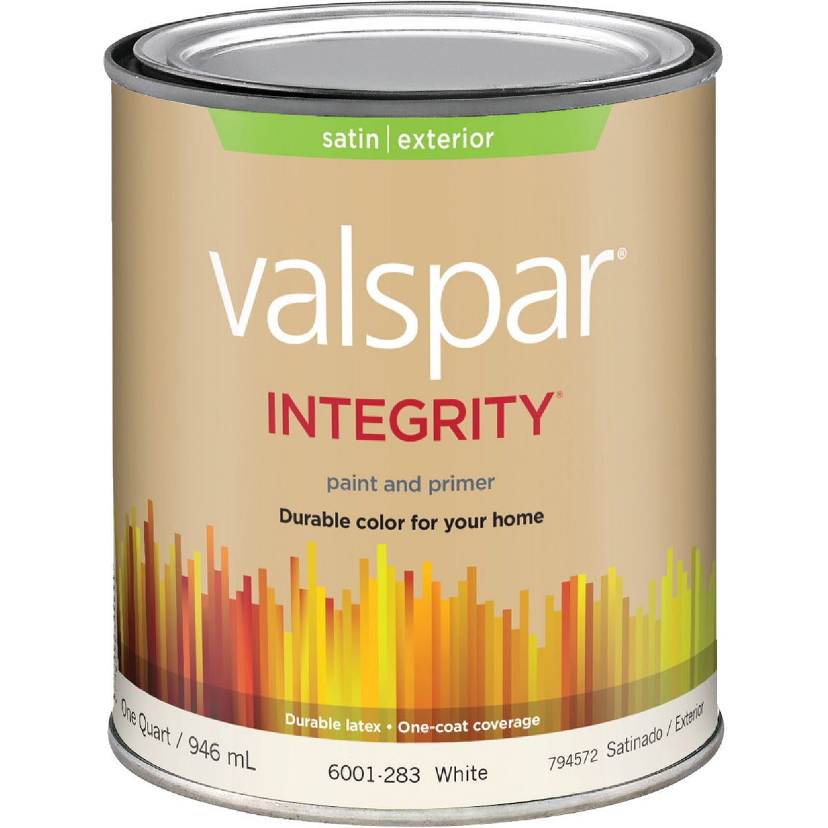 EXT SAT WHITE PAINT - 004.6001283.005 by Valspar Corp