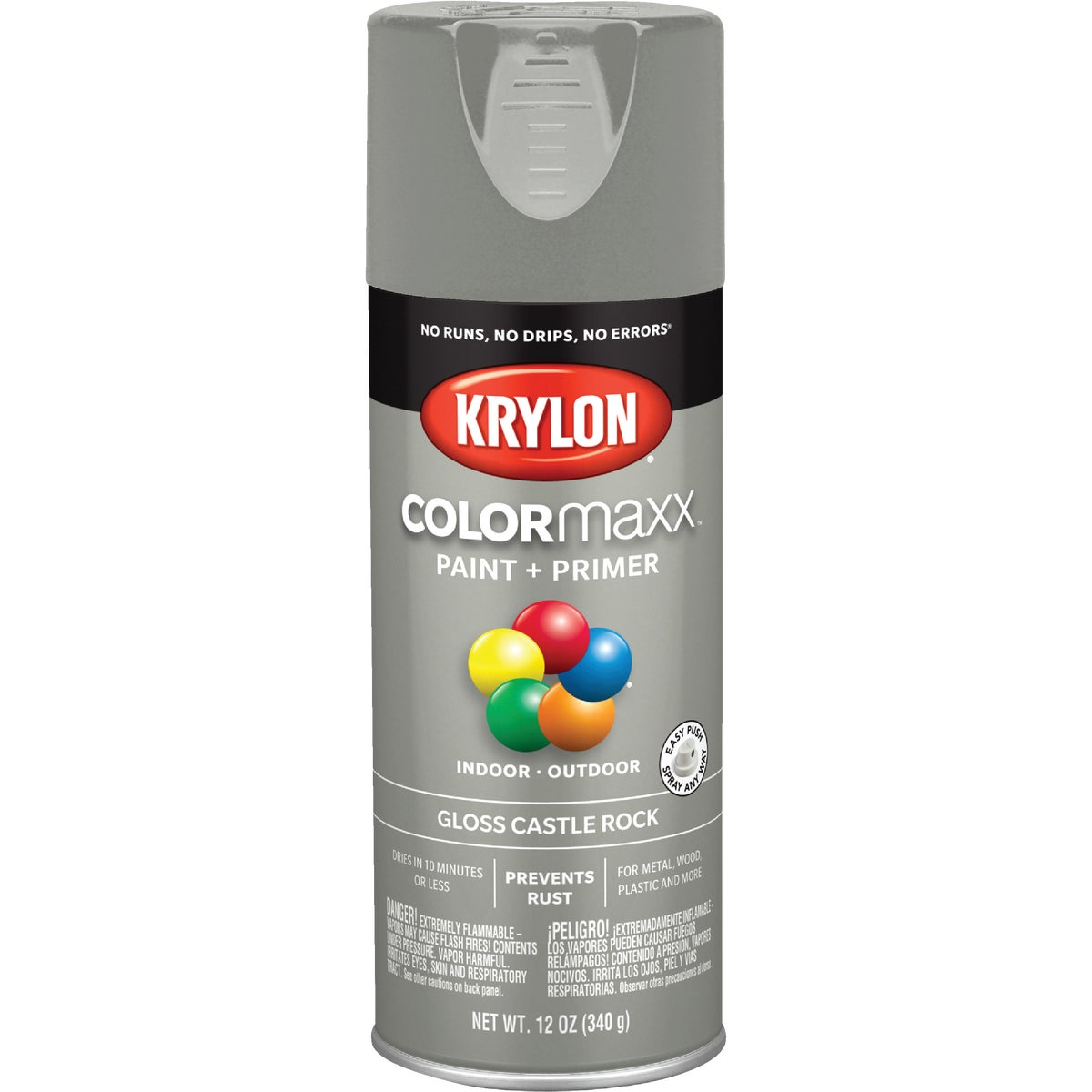 GLS CSTL RCK SPRAY PAINT - 53552 by Krylon/consumer Div