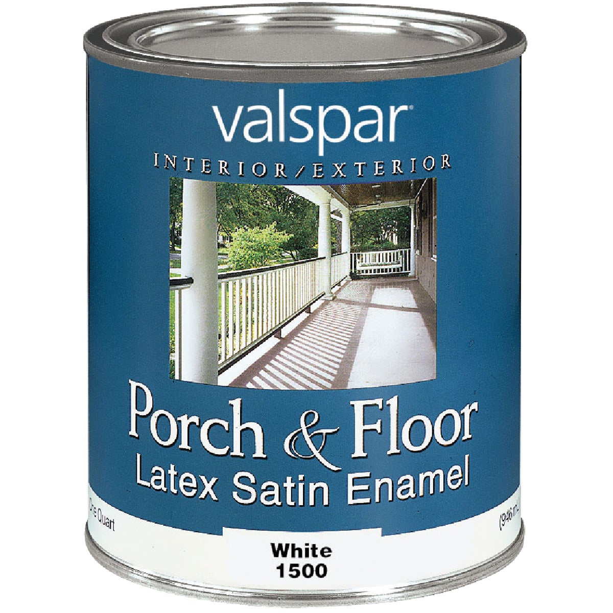 WHITE LTX FLOOR ENAMEL - 027.0001500.005 by Valspar Corp