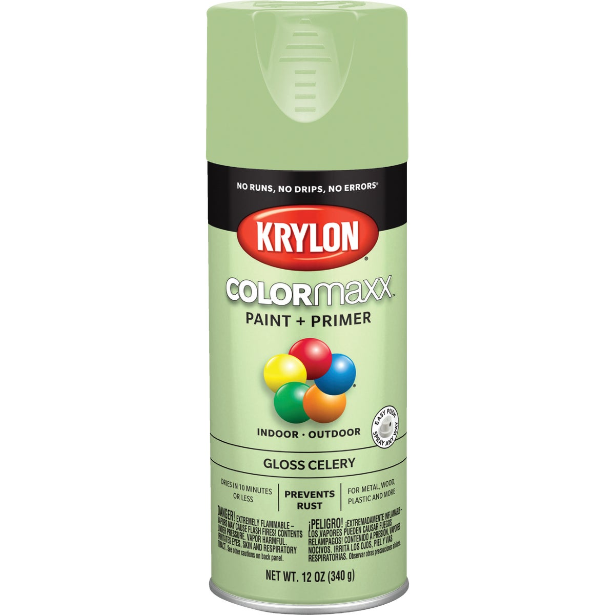 GLOSS CELERY SPRAY PAINT - 53543 by Krylon/consumer Div