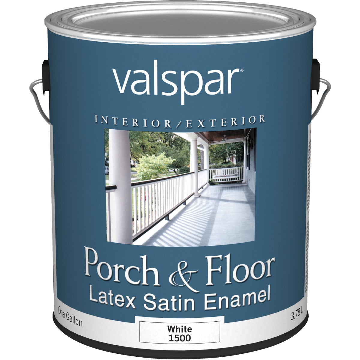 WHITE LTX FLOOR ENAMEL - 027.0001500.007 by Valspar Corp