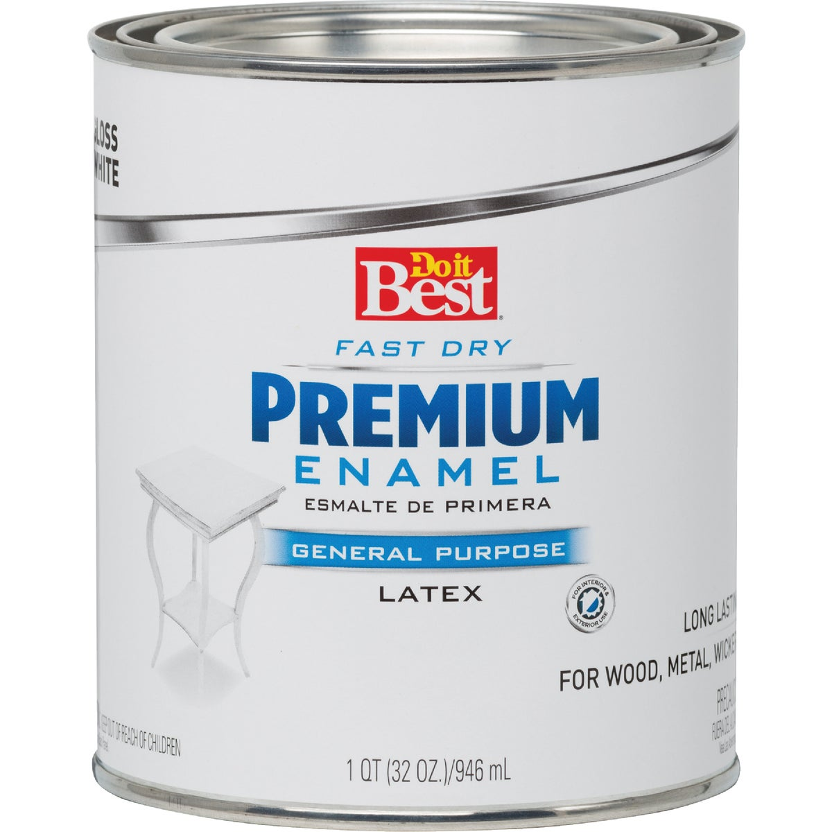 WHITE LATEX ENAMEL - 203287D by Rustoleum