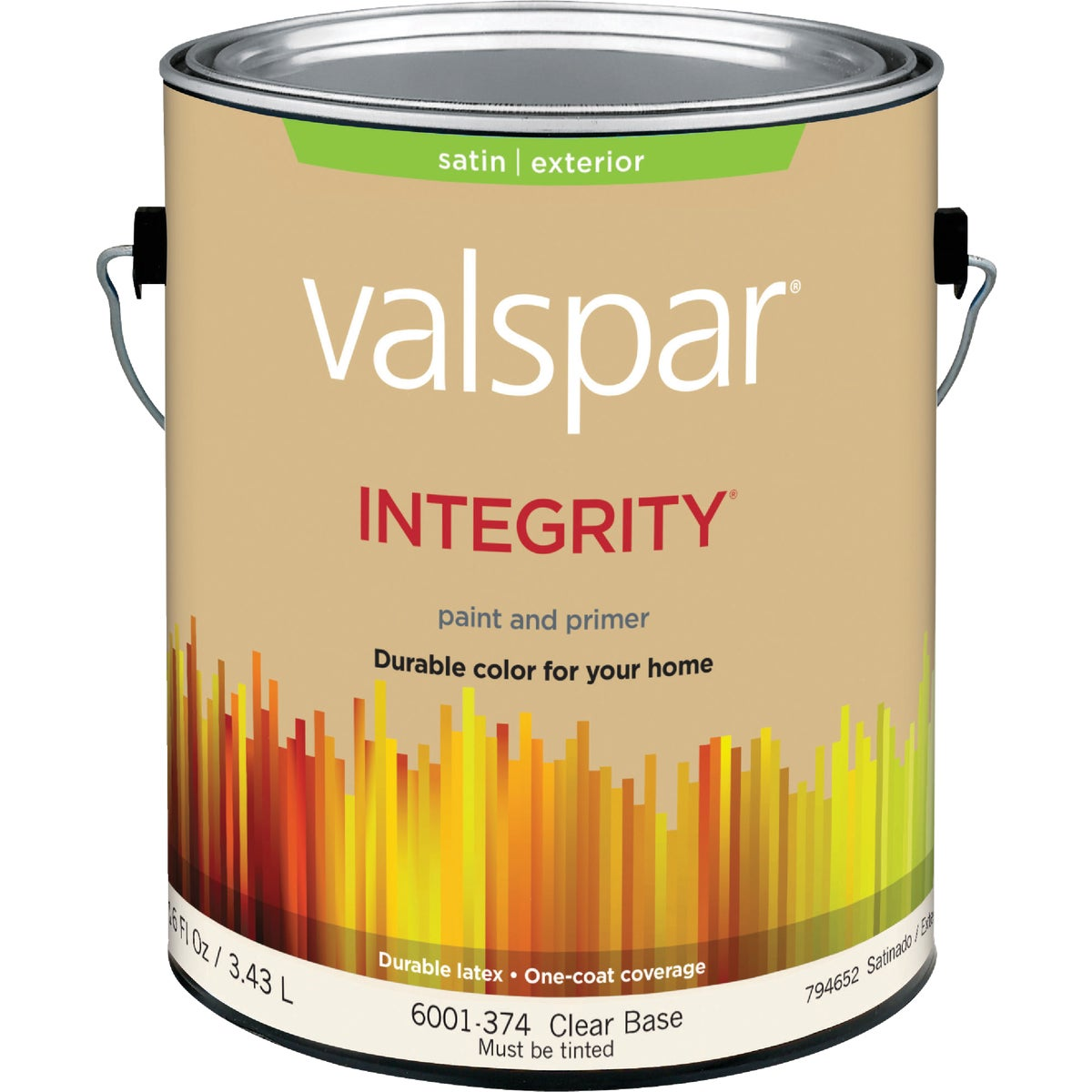 EXT SAT CLEAR BS PAINT - 004.6001374.007 by Valspar Corp