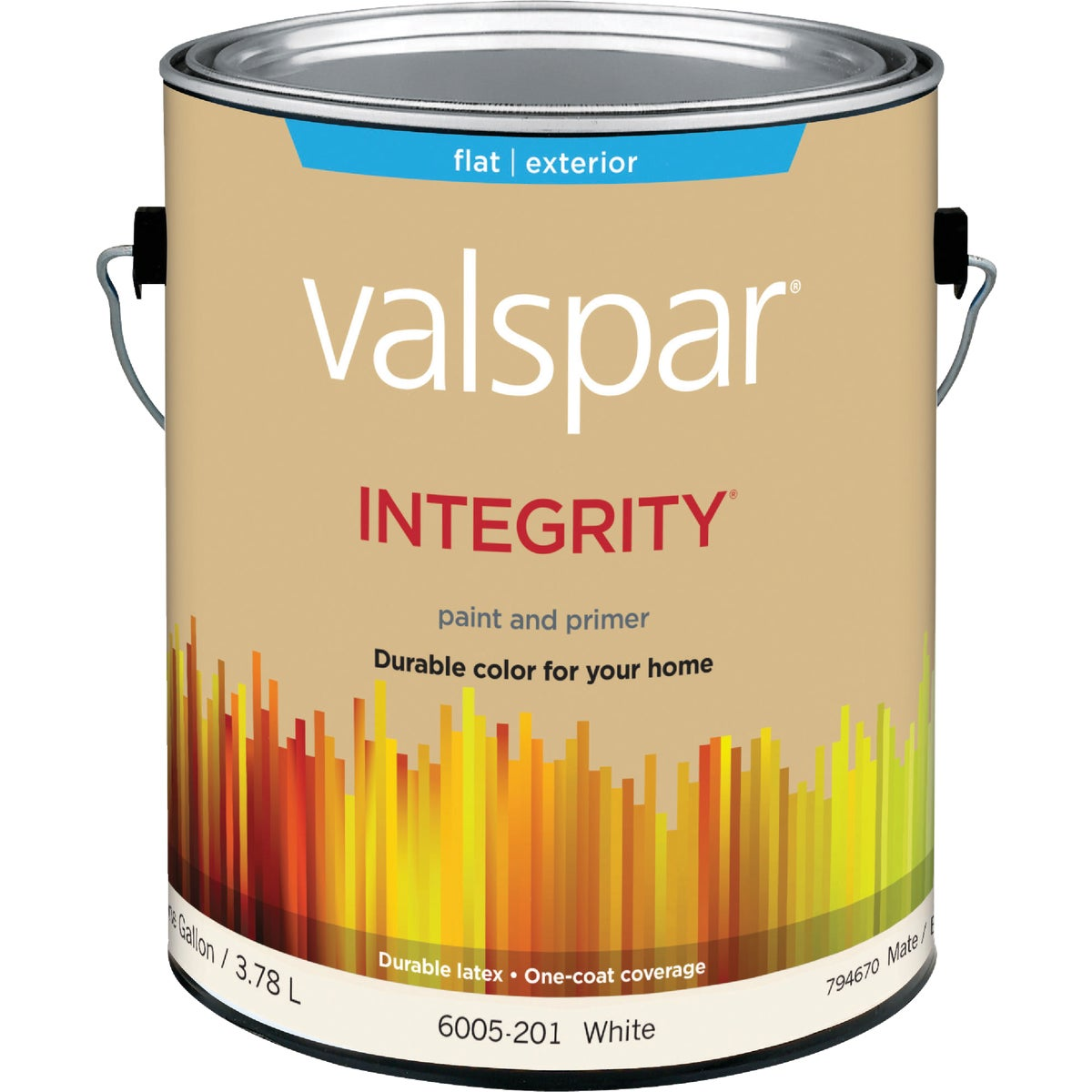 EXT FLAT WHITE PAINT - 004.6005201.007 by Valspar Corp