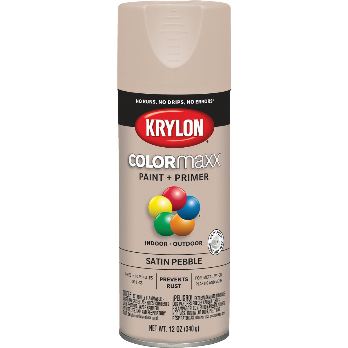 SATIN PEBBLE SPRAY PAINT - 53520 by Krylon/consumer Div