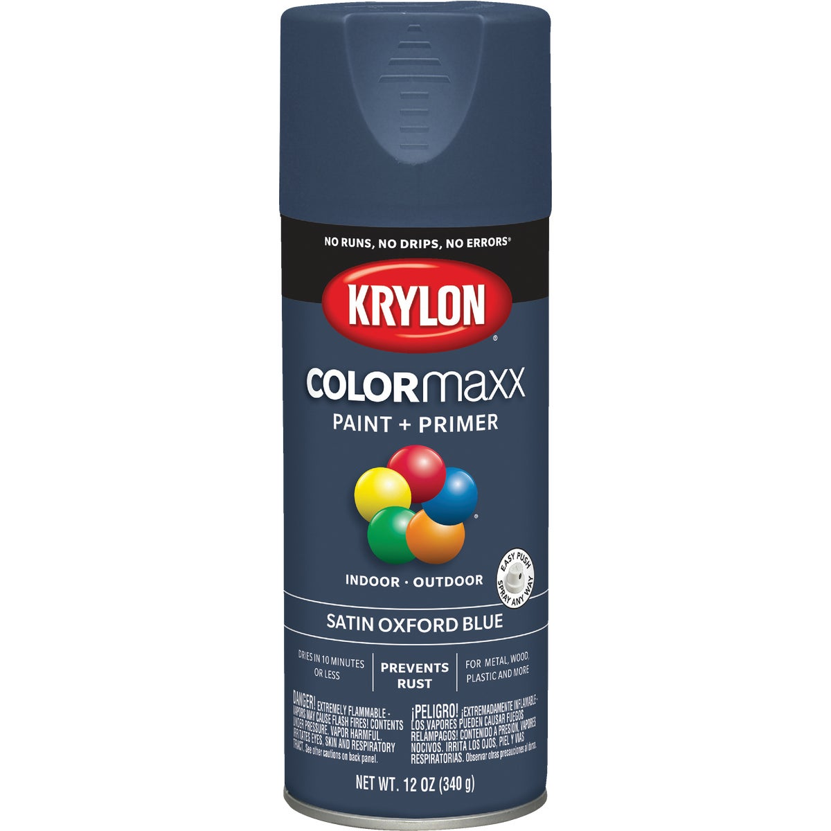 SAT OXF BLUE SPRAY PAINT - 53523 by Krylon/consumer Div