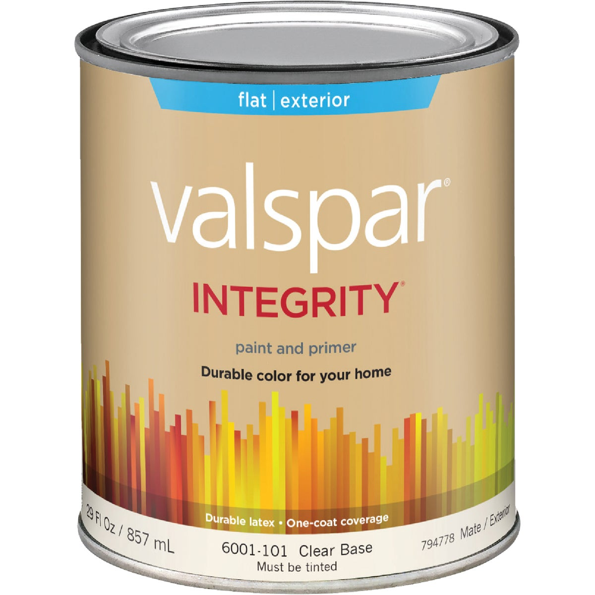 EXT FLAT CLEAR BS PAINT - 004.6001101.005 by Valspar Corp