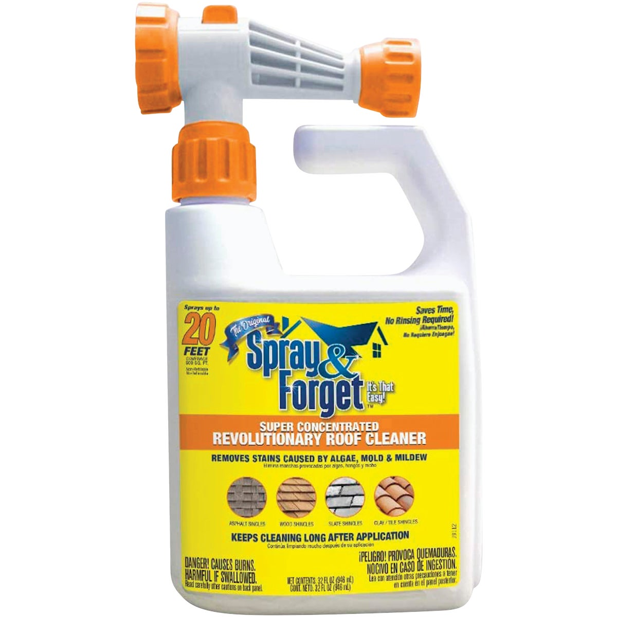 32OZ CONC SPRAY & FORGET - SFSRC-6Q by Spray And Forget