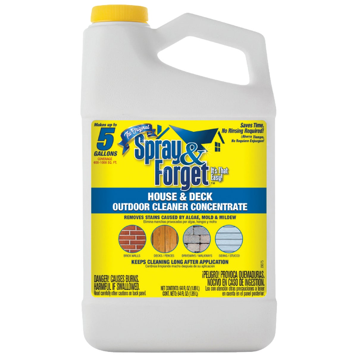 64OZ DECK&HOUSE CLEANER - SFHD64OZ-4 by Spray And Forget