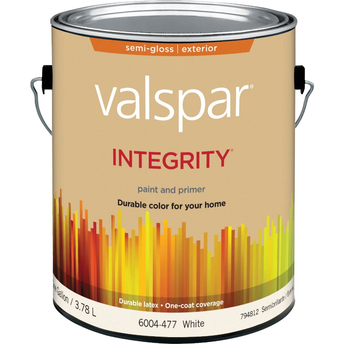 EXT S/G WHITE PAINT - 004.6004477.007 by Valspar Corp