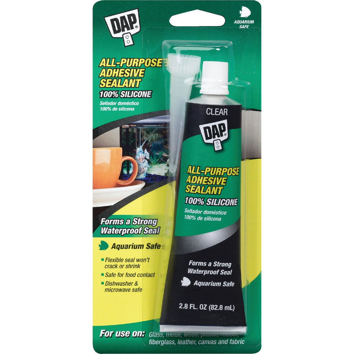 2.8OZ AQUARIUM SEALANT - 00688 by Dap Inc