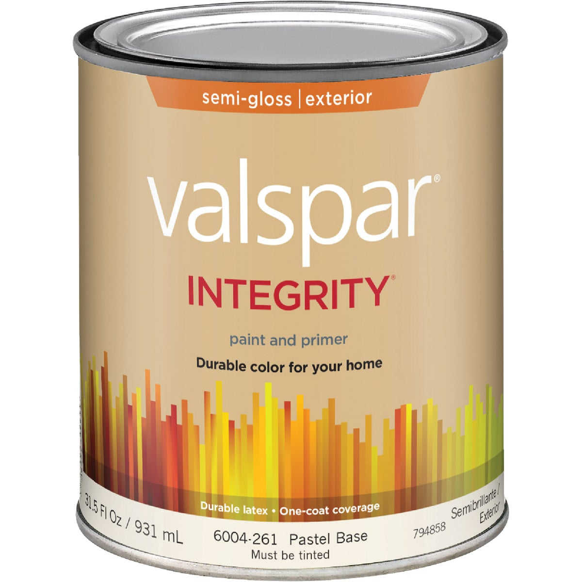 EXT S/G PASTEL BS PAINT - 004.6004261.005 by Valspar Corp
