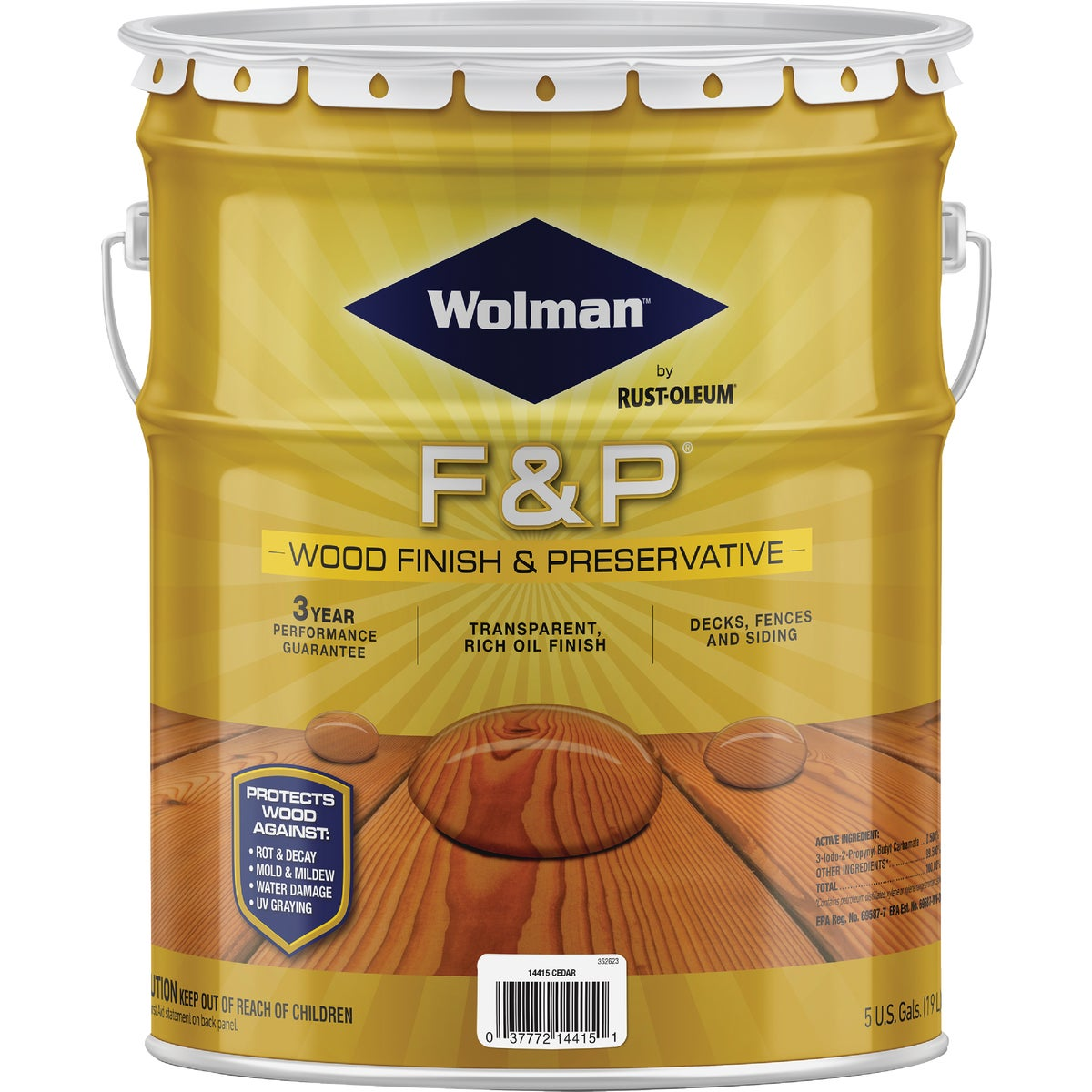 F&P CEDAR FINISH - 14415 by Rustoleum