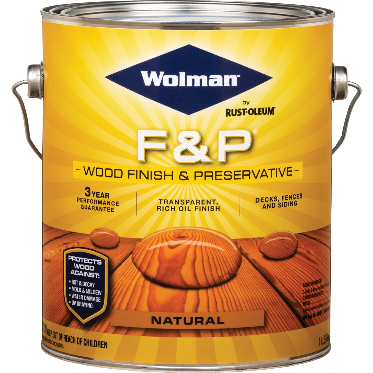 F&P NATURAL FINISH - 14396 by Rustoleum