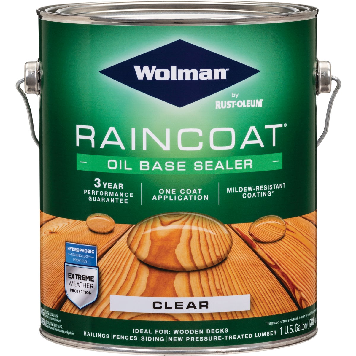 WOLMAN CLR RAIN COAT OIL