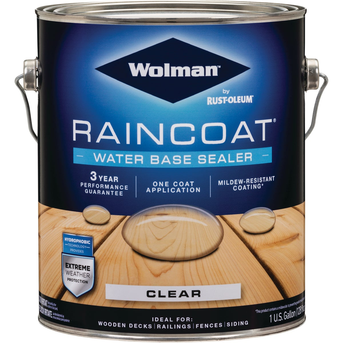 WOLMAN CLR RAIN CT LATEX - 12366 by Rustoleum