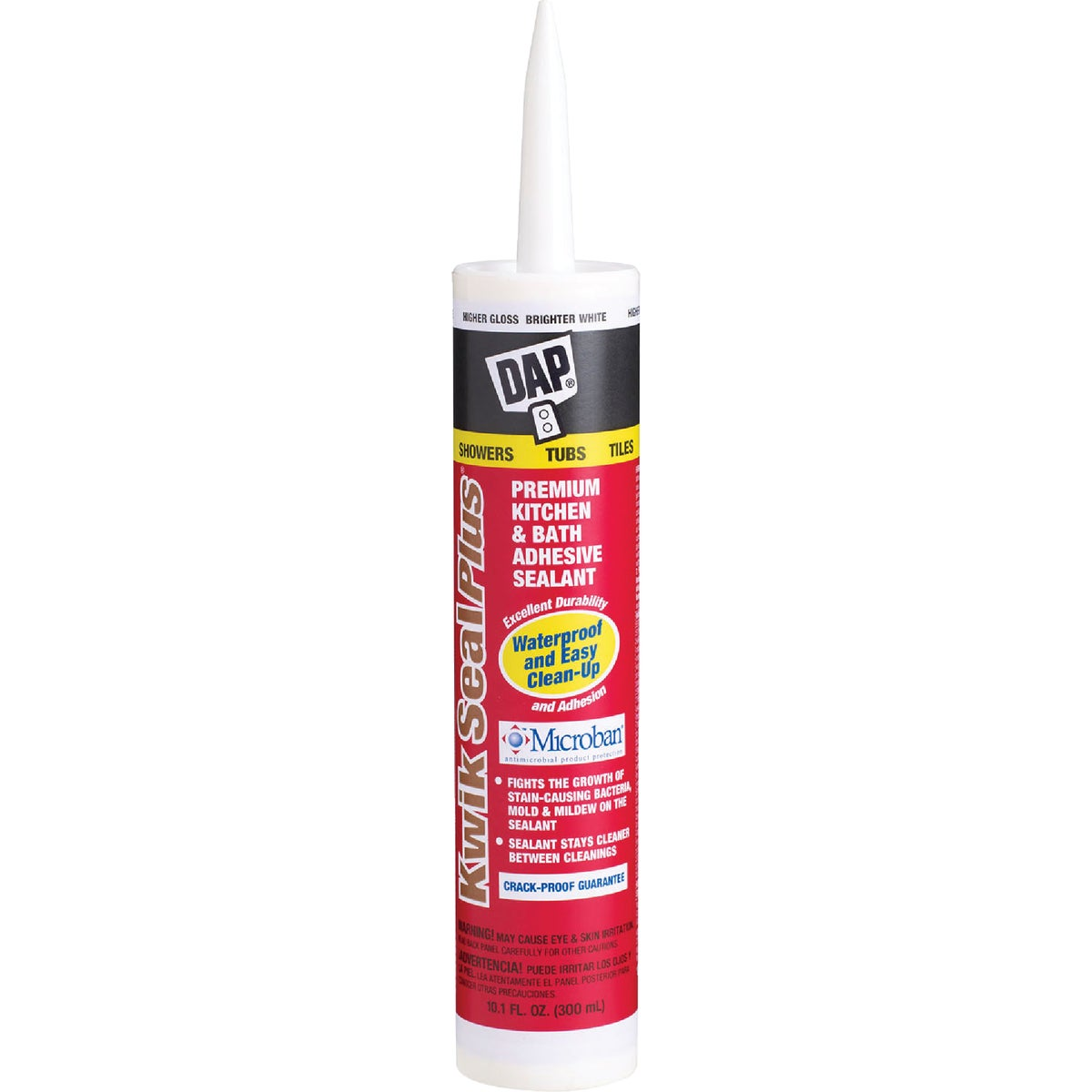 WHT KWIK-SEAL PLUS CAULK - 18510 by Dap Inc