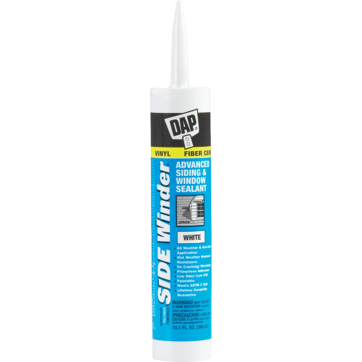 WHITE SIDEWINDER SEALANT - 00801 by Dap Inc