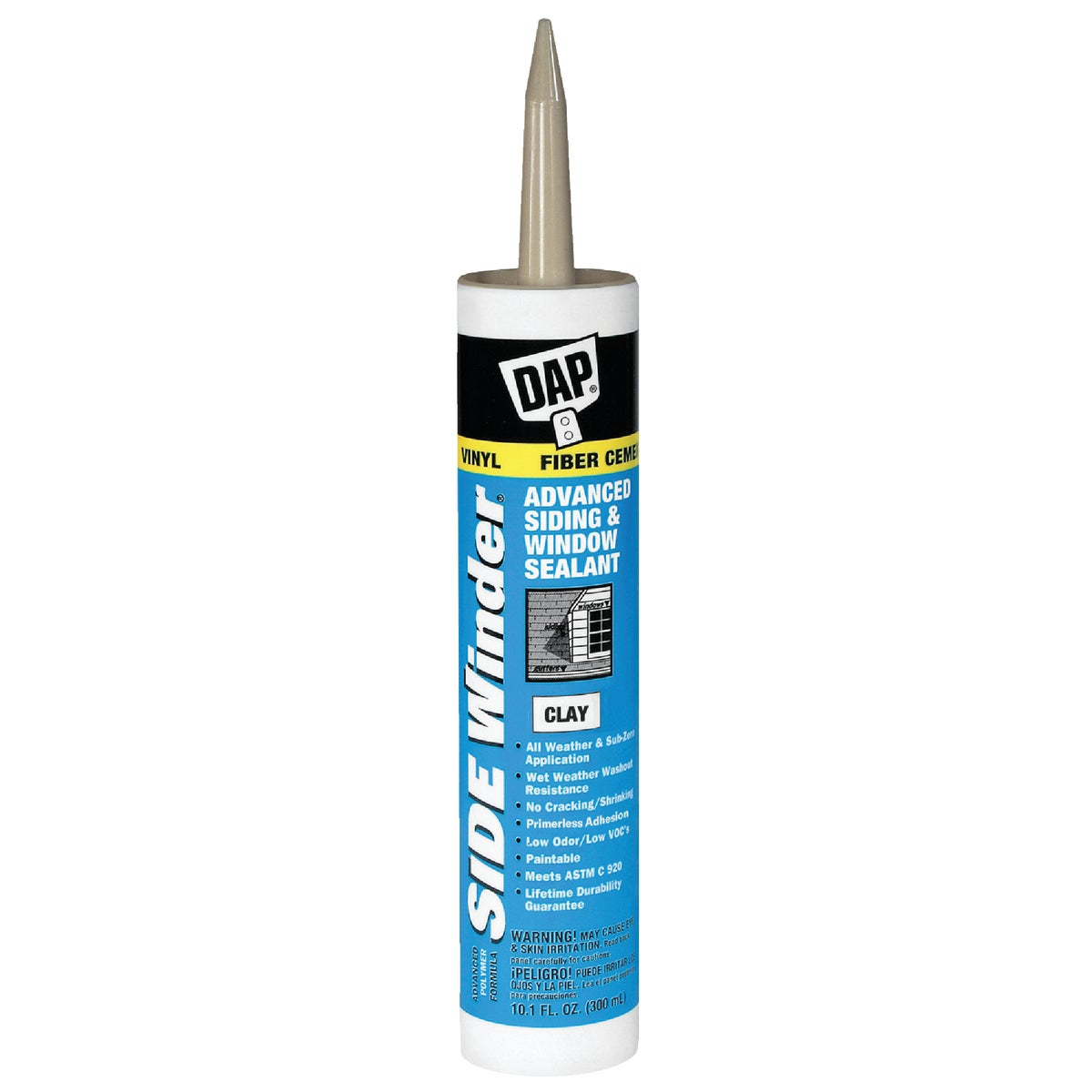 CLAY SIDEWINDER SEALANT - 00804 by Dap Inc