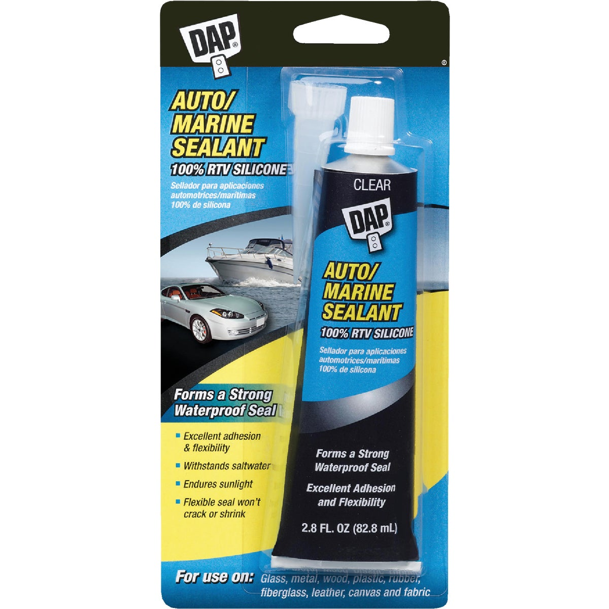 CLR AUTO/MARINE SEALANT - 00694 by Dap Inc