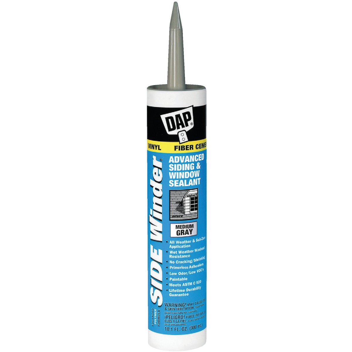 M GRAY SIDEWNDER SEALANT - 00835 by Dap Inc