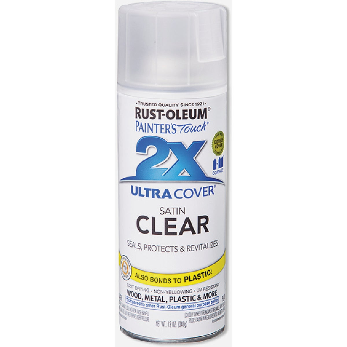 CLEAR SATIN SPRAY PAINT - 249845 by Rustoleum