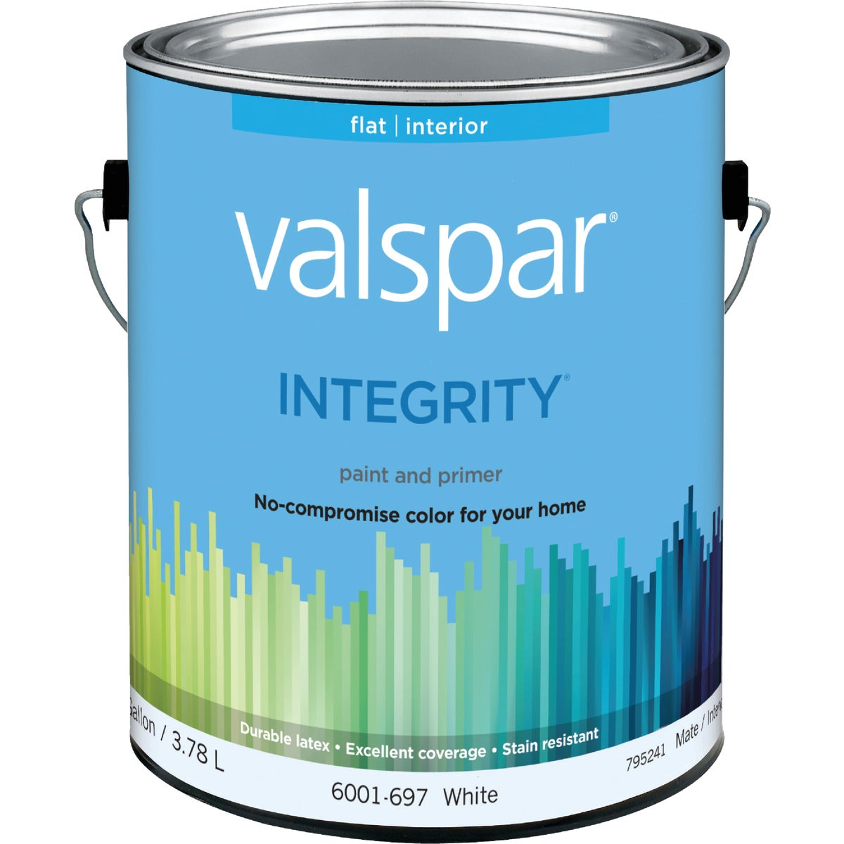 INT FLAT WHITE PAINT - 004.6001697.007 by Valspar Corp