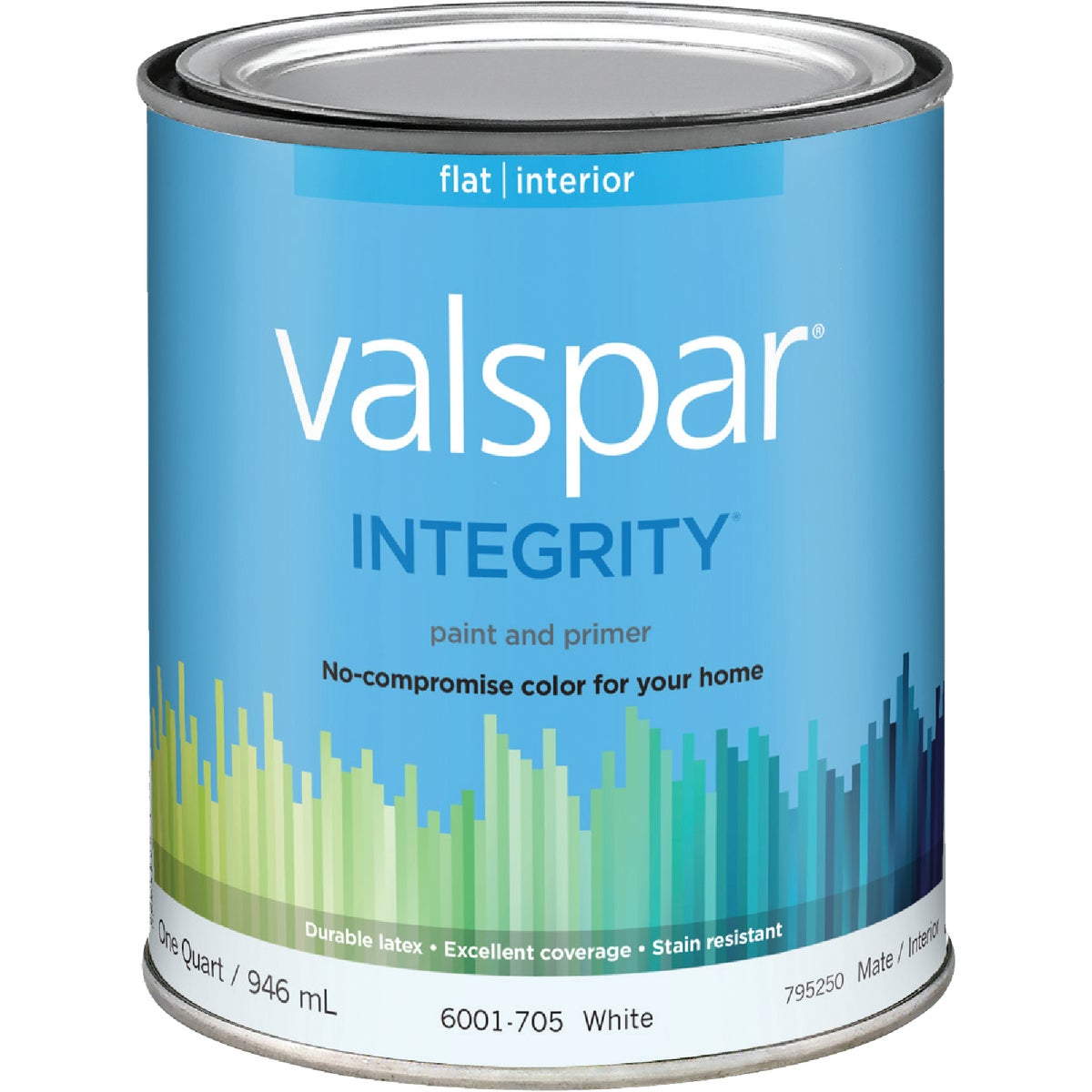 INT FLAT WHITE PAINT - 004.6001705.005 by Valspar Corp
