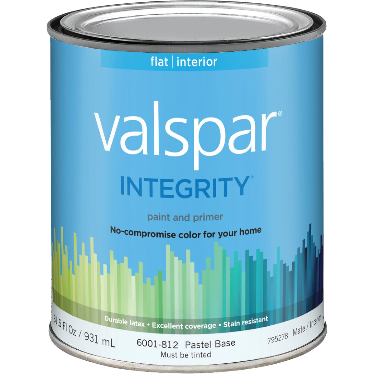 INT FLAT PASTEL BS PAINT - 004.6001812.005 by Valspar Corp