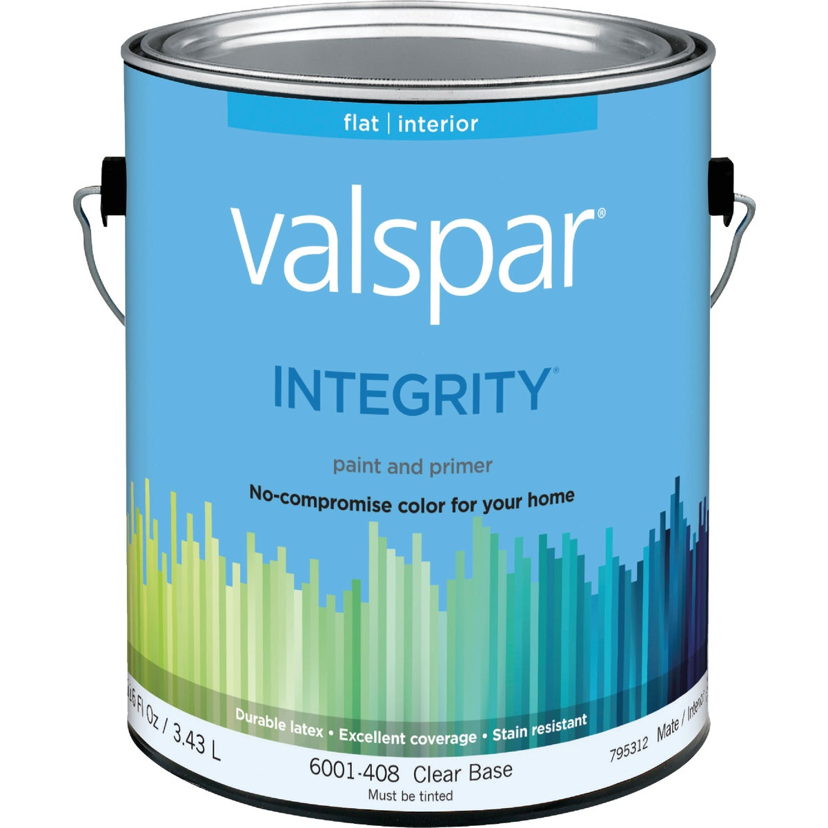 INT FLAT CLEAR BS PAINT - 004.6001408.007 by Valspar Corp