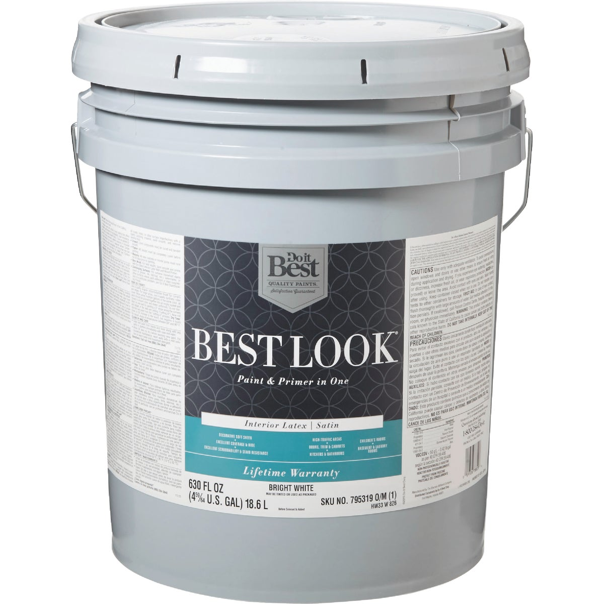 INT SAT BRIGHT WHT PAINT - HW33W0826-20 by Do it Best