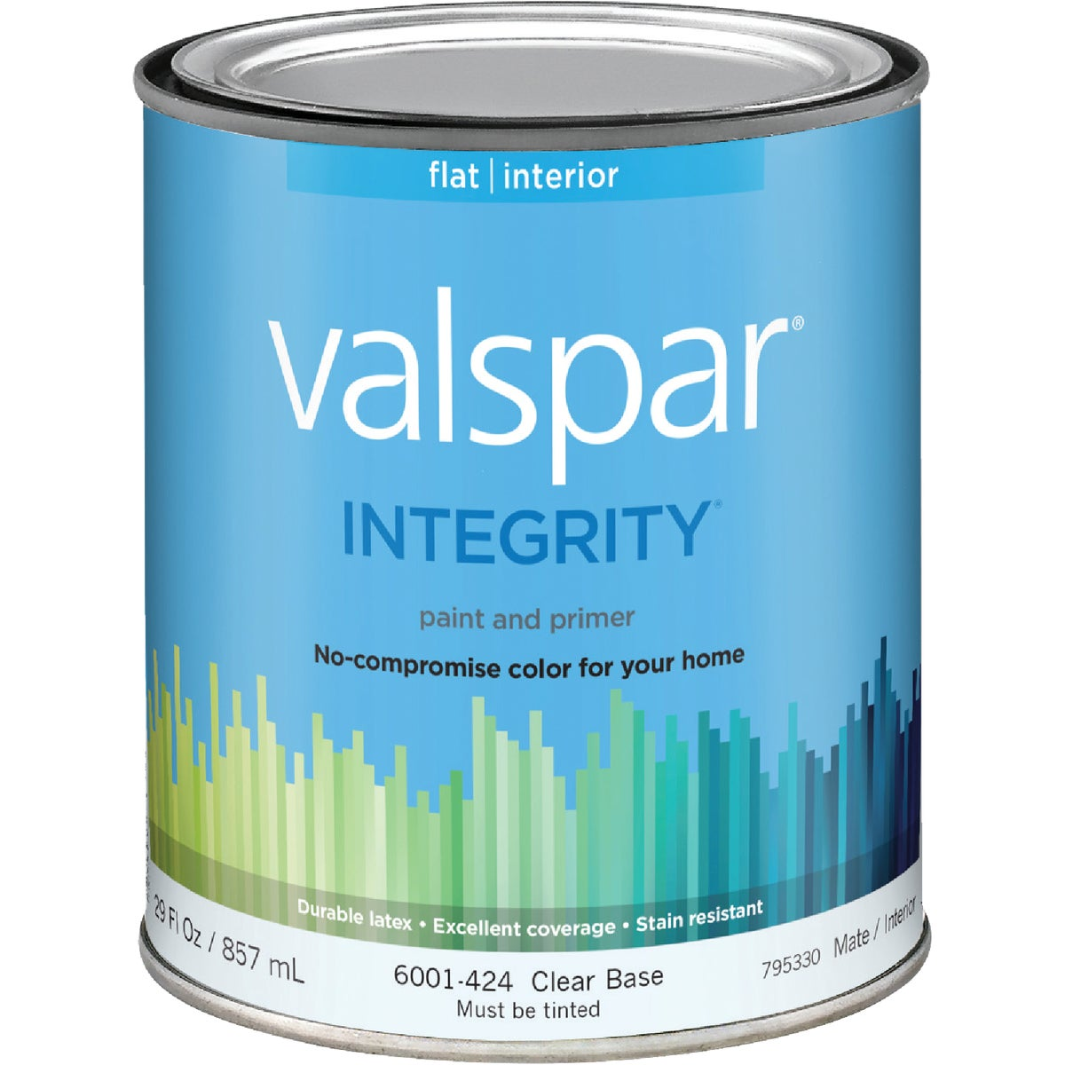 INT FLAT CLEAR BS PAINT - 004.6001424.005 by Valspar Corp