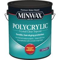 Minwax INT SATIN W/B POLYCRYLIC 13333