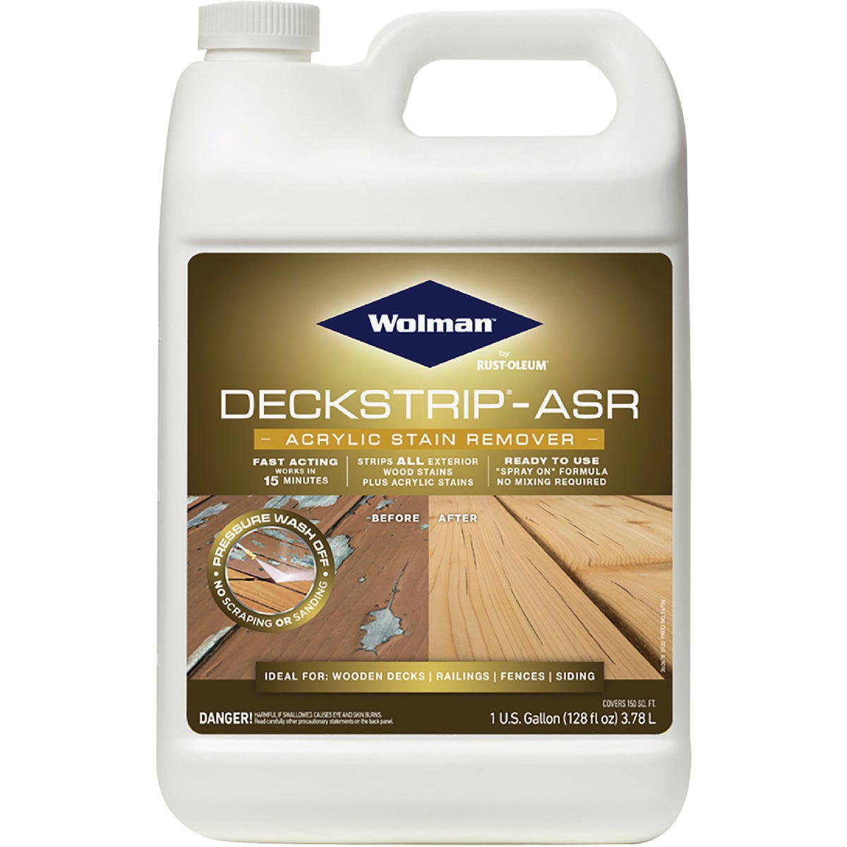 ASR ACRYLC STAIN REMOVER - 14706 by Rustoleum