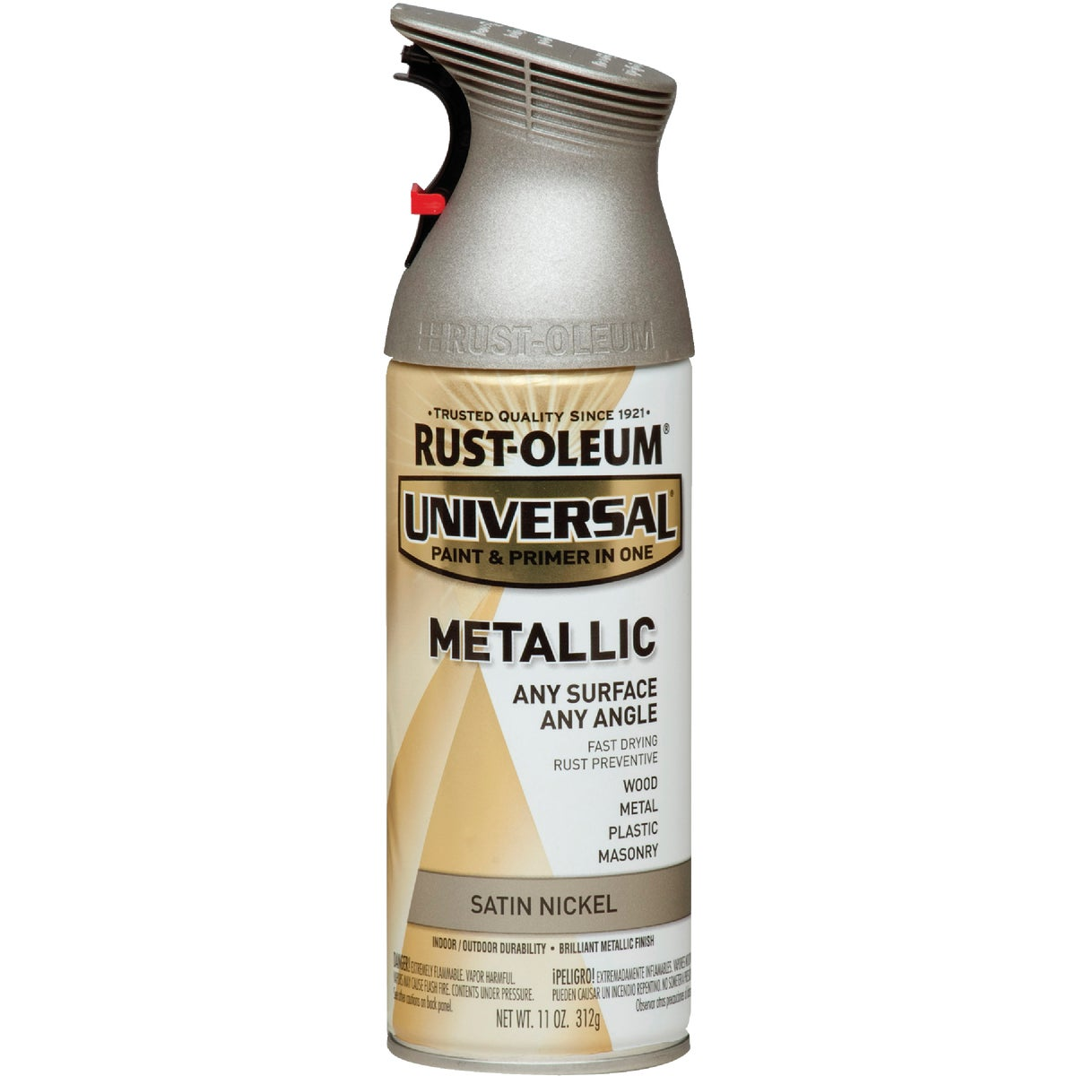 SAT NCKL UNIV SPRY PAINT - 249130 by Rustoleum