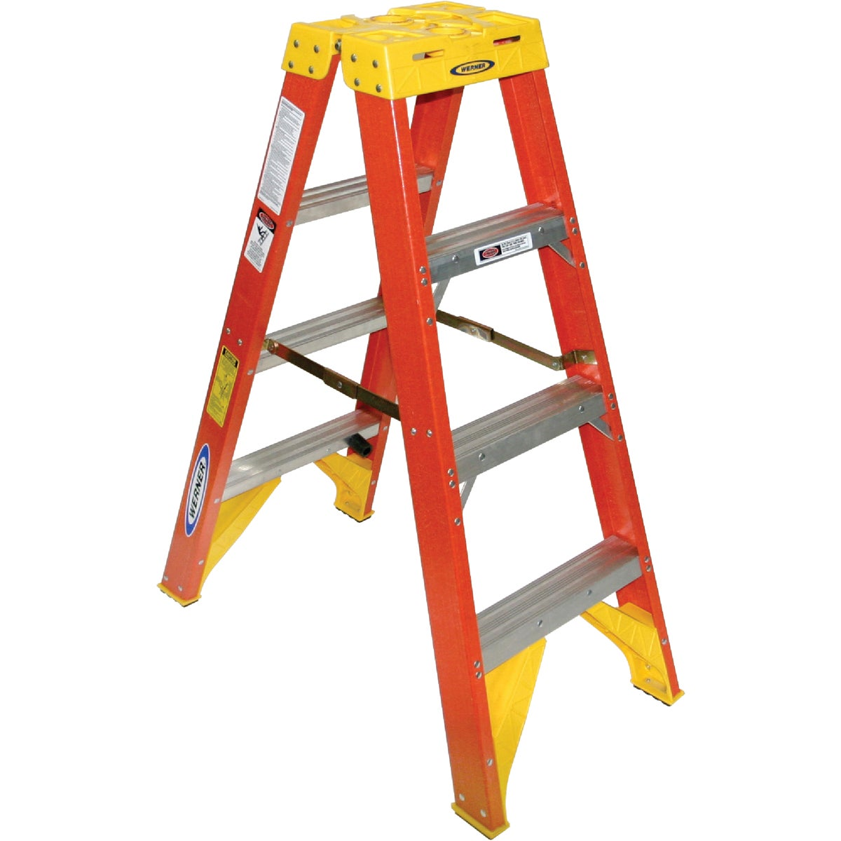 T-1A 4' TWIN STEPLADDER - T6204 by Werner Ladder