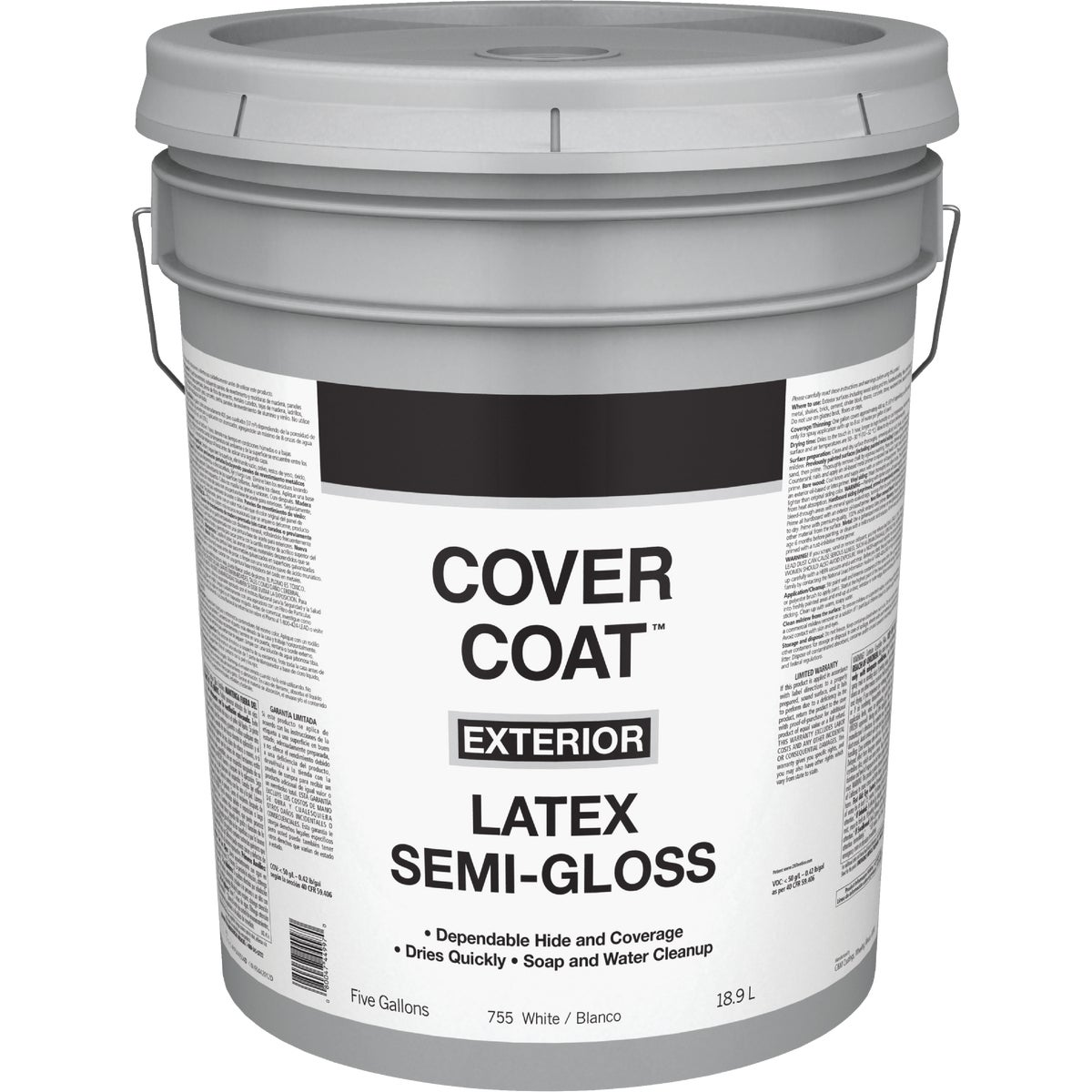 EXT S/G WHITE PAINT - 044.0000755.008 by Valspar Corp