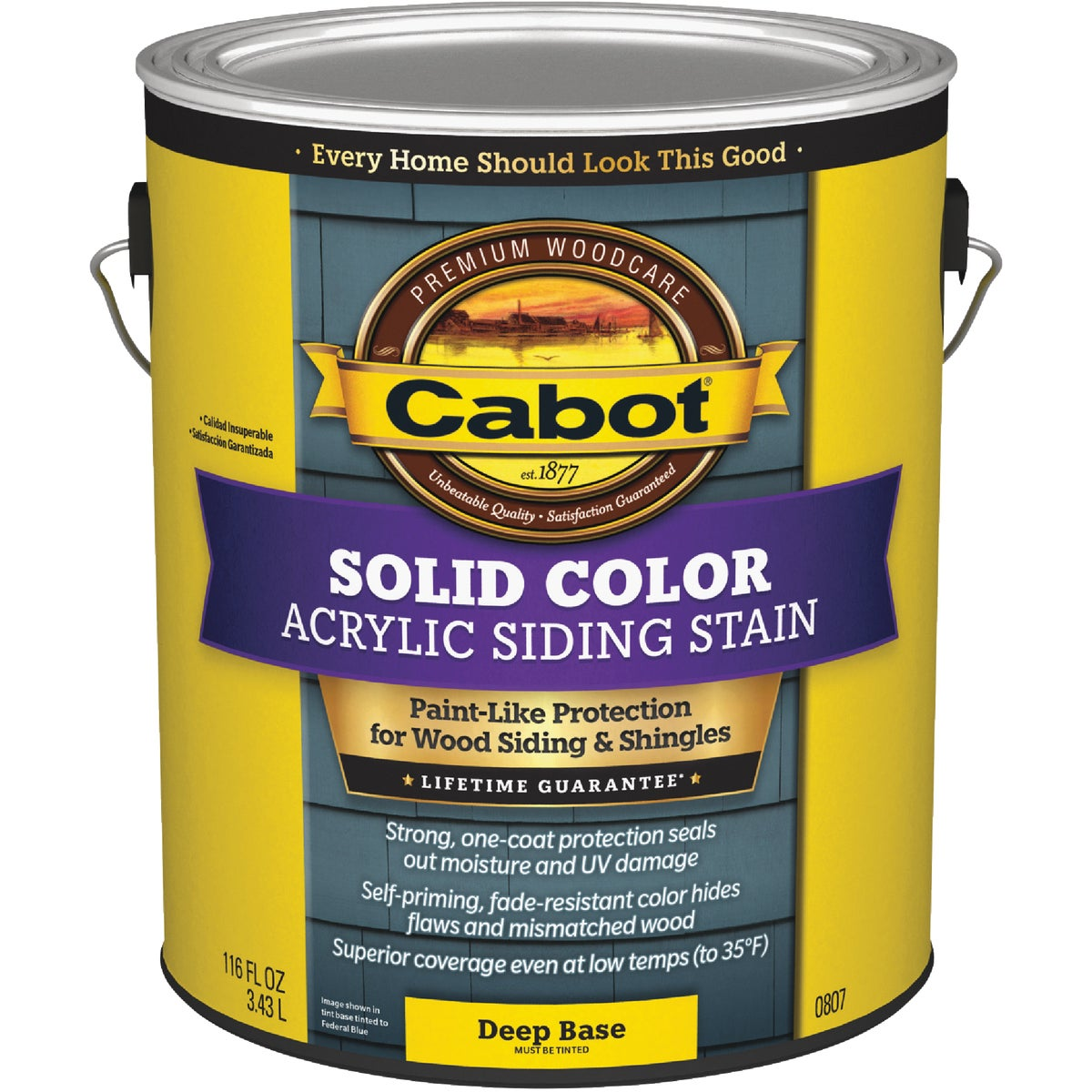 DEEP BS PRO SOLID STAIN - 140.0000807.007 by Valspar Corp