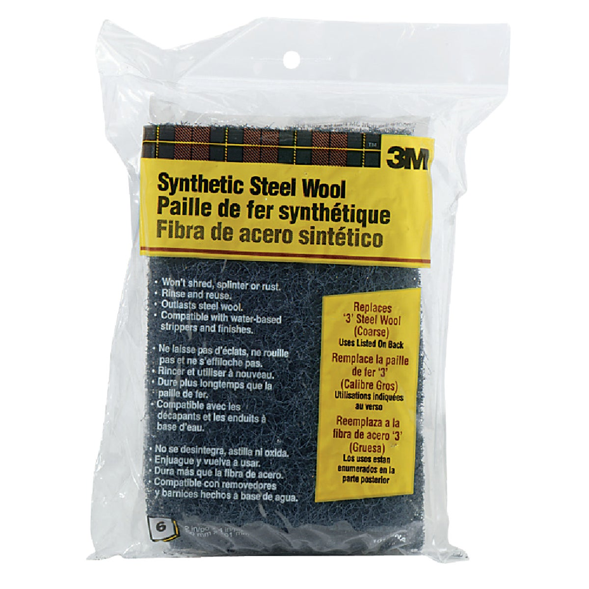 #3 SYNTHETIC STEEL WOOL - 10115NA by 3m Co