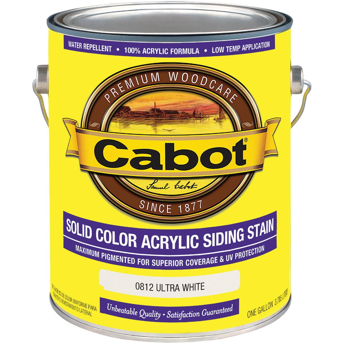 ULT WHT PRO SOLID STAIN - 140.0000812.007 by Valspar Corp