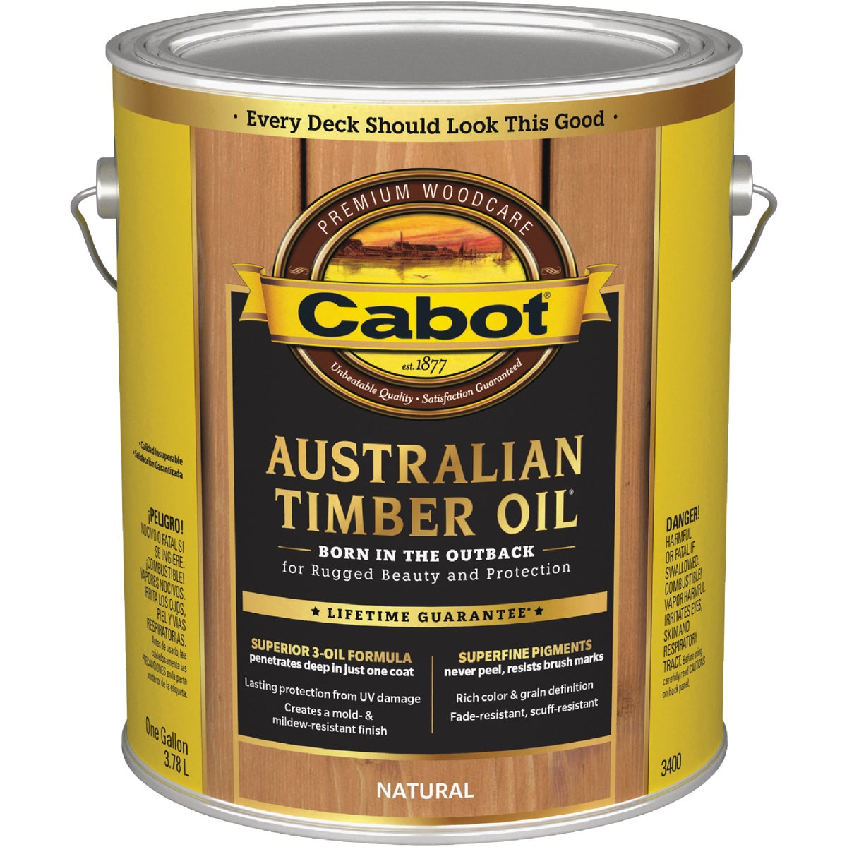 NATURL TIMBER OIL FINISH - 140.0003400.007 by Valspar Corp